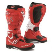 TCX Comp Evo Michelin Offroad Boots Red/White
